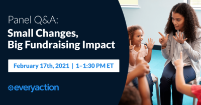 Small Changes, Big Fundraising Impact