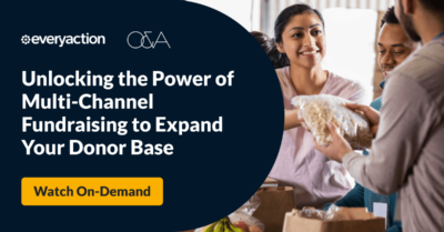 Unlocking the power of multi-channel fundraising to expand your donor base
