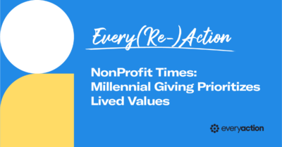 Millennial Giving Prioritizes Lived Values