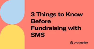 3 Things to Know Before Fundraising with SMS