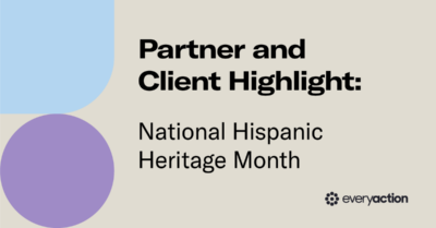 Partner and Client Highlight: National Hispanic Heritage Month